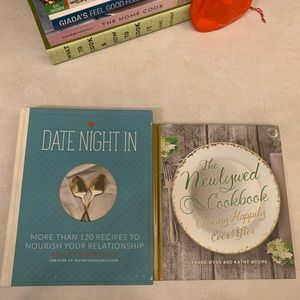 2 Newlywed Cookbooks